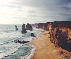 australia, beach, and landscape image