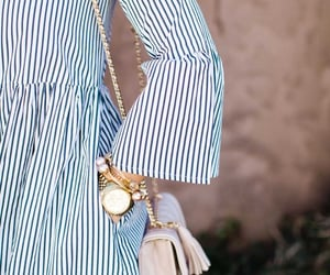 dress and stripes image