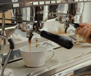 coffee, gif, and espresso image