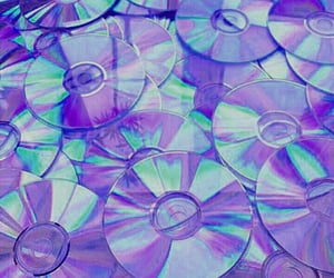cd, purple, and tumblr image