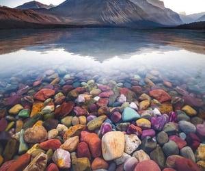 america, colors, and lake mcdonald image
