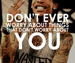 quote, wiz khalifa, and text image