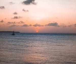 summer, sunset, and sunshine image