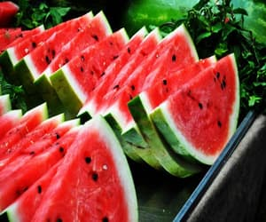 food, sweet, and watermelon image
