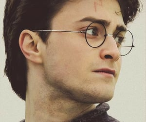 deathly hallows, harry potter, and harry james potter image