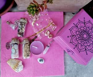 aphrodite, wiccan altar, and witchcraft spell image