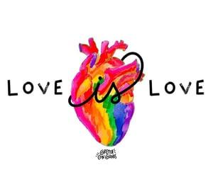 amor, arcoiris, and inspiracion image