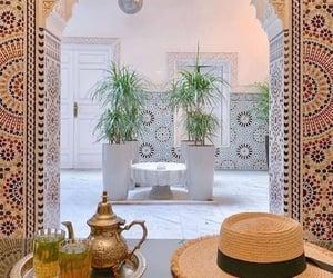 marrakech, maroc, and riath image