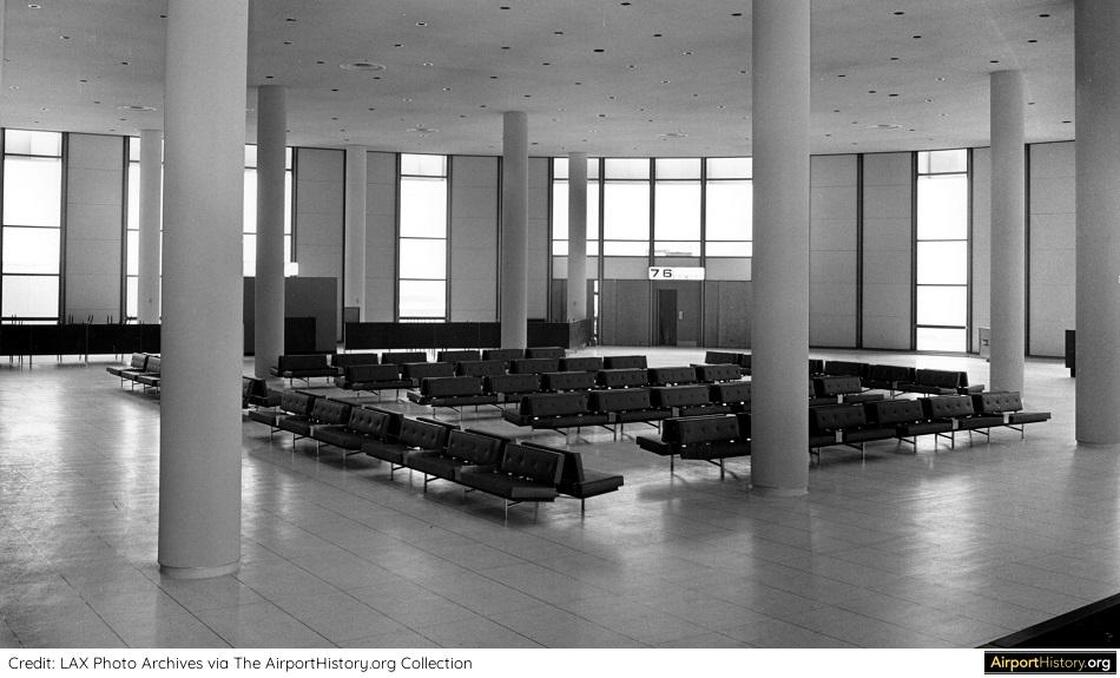 1960, airport, and LAX image