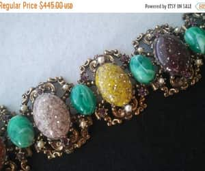 etsy, hollywood regency, and art deco jewelry image