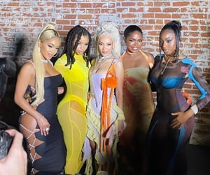 beauty, girls, and saweetie image