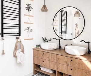 bathroom, bathrooms, and black image