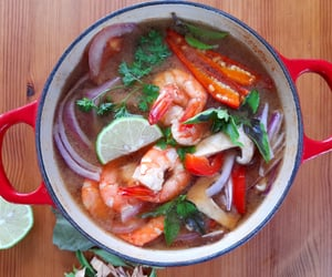 asian, summer, and tom yum image