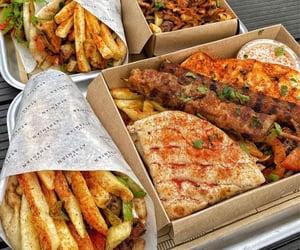 food, foodie, and greek image