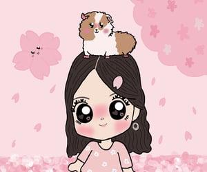 cherry, cherryblossom, and dibujo image