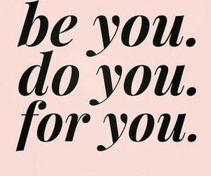 quotes, be you, and pink image