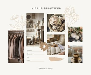 aesthetic, calm, and collages image