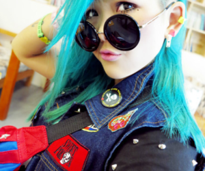 asian, Hot, and sunglasses image