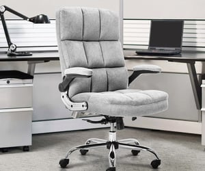 ergonomic office chair, office chair, and computer chair image