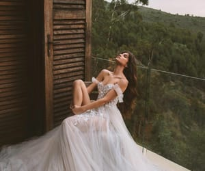 aesthetic, beautiful, and bride image