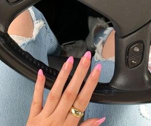 car, hand, and nail image