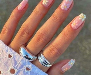 nails, design, and fashion image