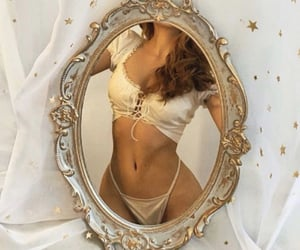 mirror, aesthetic, and body image