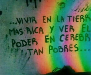 frases, quotes, and rainbow image