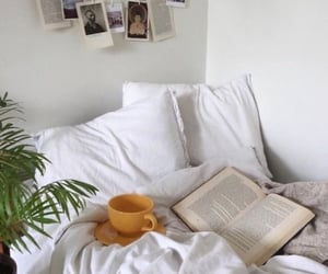 bedroom, books, and reading image