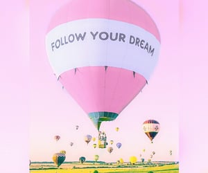 festival, hot air balloon, and quotes image