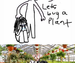flower, gardens, and girl image