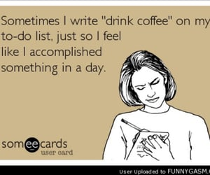 coffee, to do list, and todolist image