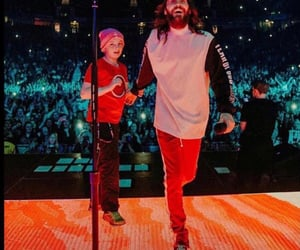 30 seconds to mars, jared leto, and kid image