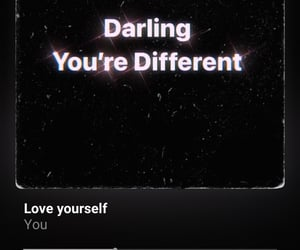 darling, you, and different image