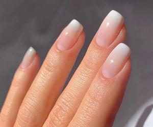 nails, blush, and pink image