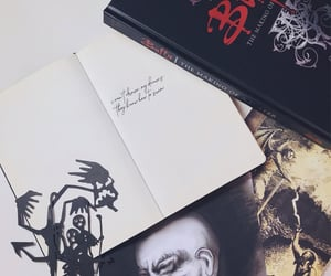 aesthetic, book, and dark image