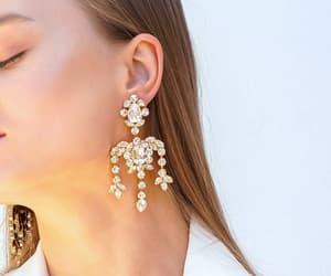 bridal jewelry, etsy, and swarovski earrings image