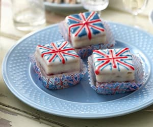 food, sweet, and britain image