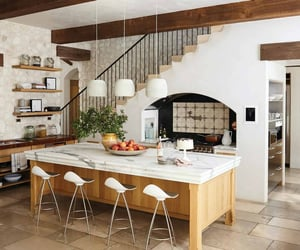 inspiration, kitchen, and rustic image