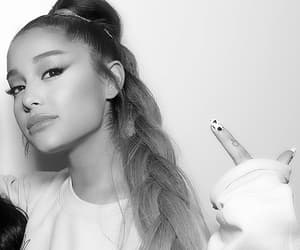 girl, song, and thank you next image