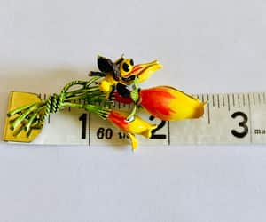 etsy, flower brooch, and vintage brooch image