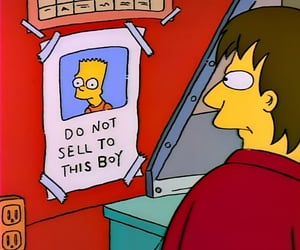 bart, bart simpson, and oops image