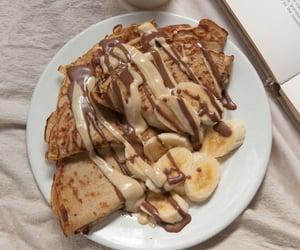 food, crepes, and chocolate image
