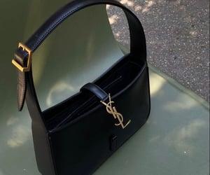 bag, handbag, and YSL image