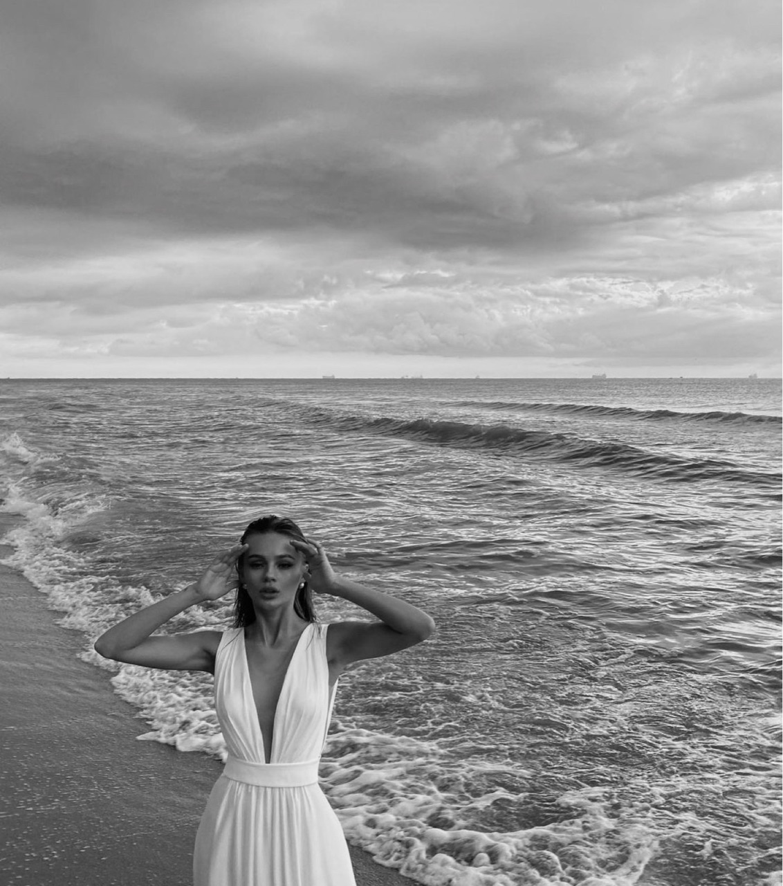 beach, style, and wild image