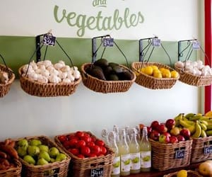 shop and fruit and vegetables image