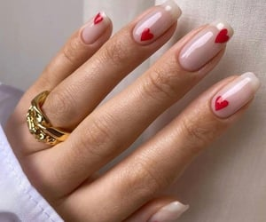 corazon, manicure, and nails image