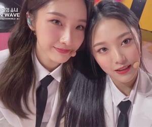 hyunjin, haseul, and loona image