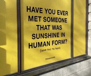 meet, sunshine, and yellow image
