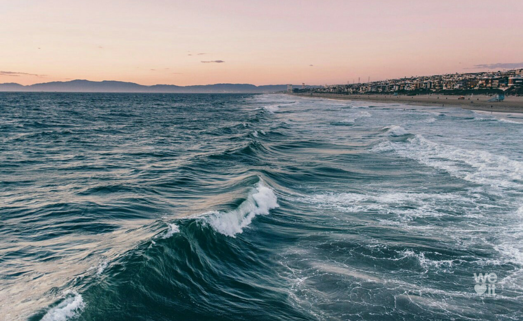 summer and waves image